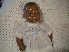 """BLACK AA AMERICANA 16""""  BYE LO  BABY DOLL REPRO?- VERY PRETTY -ONE OF A KIND !!!"""