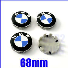 4 PCS BMW 68mm Wheel Center Cover Emblem Sign Logo Hub Cap Set e46 e60 e90 e91