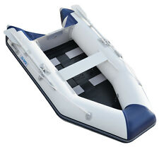 0.9mm PVC 8.8ft Inflatable Boat Tender Dinghy Raft Fishing Boat With Slat Floor