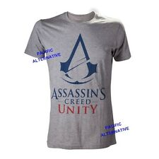 Tshirt ASSASSIN'S CREED UNITY gris taille XL pour homme NEUF man new grey