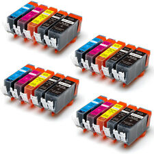 20PK Combo Printer Ink chipped for Canon 225 226 MG5120 MG5220 MG5320 iP4920