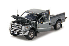 "Ford F250 Pickup Truck - Super Cab - 8 Ft Bed - ""GRAY"" - 1/50 - Sword #SW1100A"