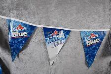 NEW LABATT BLUE LIGHT BLUE Beer String Banner Man Cave Budweiser 25' Long ~NEW~