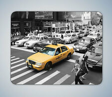 NEW YORK CITY YELLOW TAXI MOUSE MAT MOUSE PAD COMPUTER PC GAMING GIFT