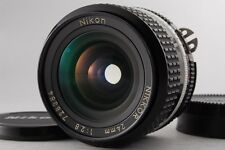【Excellent+++】NIKON AI-S 24mm F/2.8 automatic exposure Ais MF from JAPAN 415