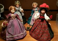 Vintage Lot of 4 9 Inch dolls Needs TLC