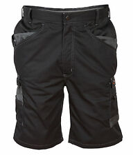 "Himalayan 34"" Black Icon Multi Pocket Heavy Duty Work Shorts Cargo Combat Shorts"