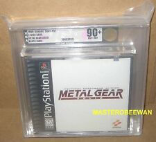 PS1 PSX Metal Gear Solid Black label VGA 90+GOLD New (Sony PlayStation 1, 1998)