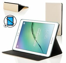 White Clam Shell Smart Case Cover Samsung Galaxy Tab S2 9.7 Screen Prot Stylus