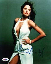 ANGELINA JOLIE SIGNED AUTOGRAPHED 8x10 PHOTO VERY SEXY PSA/DNA