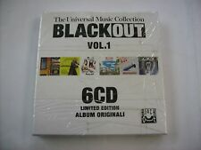 BLACK OUT VOL.1 - 6CD BOXSET SIGILLATO - OTTAVO PADIGLIONE - MADASKI - SOON