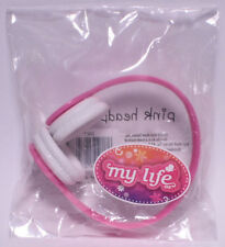 My Life As All American Girl Doll Pink Headphones ** NEW **