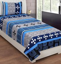 SYK Soft Cotton Single Bed sheet,Bedsheets with 1 Pillow Cover (SYKSB05)