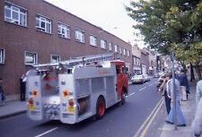 1979 Bedford Fire Engine/Truck  - Original 35mm Slide
