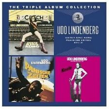 UDO LINDENBERG -THE TRIPLE ALBUM COLLECTION (SISTER KING KONG/KEULE/+) 3 CD NEU