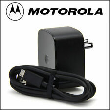 Original Motorola TurboPower™ 15 Wall Charger With Micro USB Data Cable MOTO G3