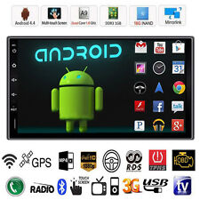"7"" Double 2DIN Android 4.4 3G WIFI Car Radio Stereo MP5 Player GPS Navigation **"