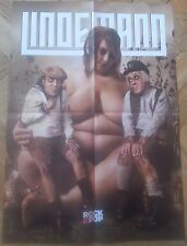 LINDEMANN fantastic POSTER !!! Pain/Hypocrisy/Rammstein/Eisbrecher/Die Krupps !!