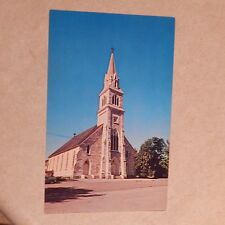 Vintage Postcard St. Bridget's R.C. Church, West Rutland, Vermont