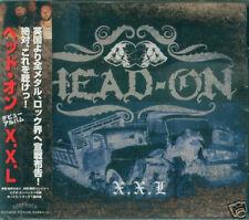 HEAD-ON - X.X.L - Japan CD+1BONUS - NEW  XXL