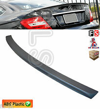 MERCEDES C CLASS W204 COUPE ONLY 2D AMG STYLE REAR TRUNK BOOT LIP SPOILER 08-13