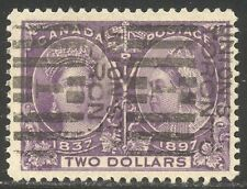 CANADA #62 Used BEAUTY - 1898 $2.00 Jubilee