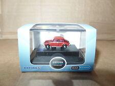 Oxford NVWB002 VWB002 N Gauge 1/148  Scale Volkswagen VW Beetle Ruby Red