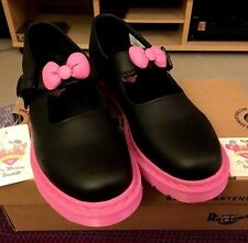 Hello Kitty Dr. Martens Mary Janes New In Box! Women's US Size 9