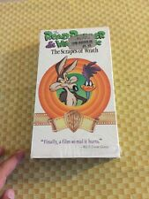 The Road Runner & Wile E Coyote The Scrapes Of Wrath VHS OOP Looney Tunes WB Rar