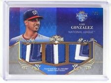 2013 Topps Triple Threads Gio Gonzalez all-star triple patch #D9/9 #ASP-GG *5171