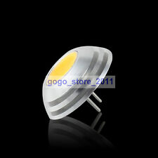 G4 COB SMD LED 2W Lamp Spot Light Bulb Warm White DC 12V 2800-3300K 100-120Lm