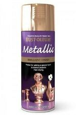 Rust-Oleum Brilliant Finish Bright Copper Fast Dry Spray Paint Aerosol 400ml