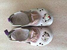 Crocs Toddler Girl Micah Shoes Size C 8 - 9 Pin ice cream