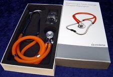 Stethoskop VEDENA Doppelschlauch Stethoscope Sprague Rappaport Orange - Neuware
