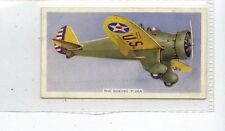 (Jd6615) UK TOBACCO,AIRCRAFT,THE BOEING P-26 A,1938,#10