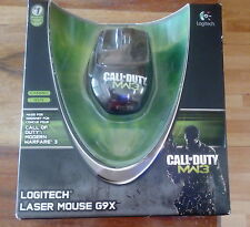 Logitech G9X Call of Duty MW3 corded Laser Gaming mouse NEW and SEALED