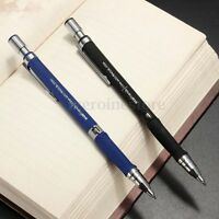 New 2.0mm 2B Lead Holder Automatic Mechanical Draughting Drafting Drawing Pencil