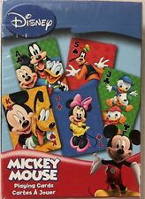 Mickey Mouse Deck Playing Cards Poker Size USPCC Disney Custom Limited Sealed