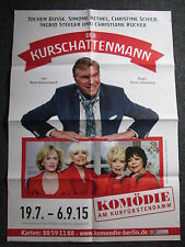 Konzertposter-Jochen Busse Der Kurschattenmann-Berlin 19.7.-06.09.2015-Plakat
