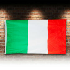 Large Super Quality Outdoor National Flag Of Italy Italian 5x3 Feet Football