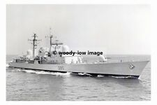 rp17813 - Royal Navy Warship - HMS Manchester D95 in 1984 - photo 6x4