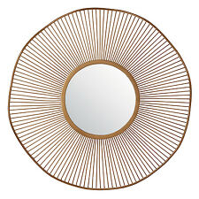 Endon Rossner round mirror Bronze effect paint Dia: 790mm x 32mm