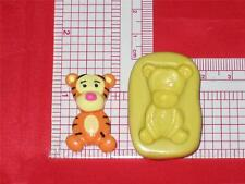Winnie the Pooh Baby Tigger 2D Push Mold Food Silicone Cake Topper Resin A678