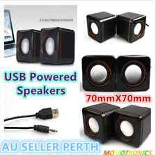 USB2.0 powered Mini Speaker for Desktop/Laptop with volume contro
