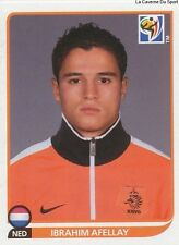 N°347 IBRAHIM AFELLAY # NETHERLANDS STICKER PANINI WORLD CUP SOUTH AFRICA 2010