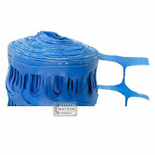 50M BLUE Barrier Fencing Plastic Fence Mesh Netting Roll Building Site Safety