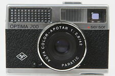 Agfa Optima 200 sensor mit Color Apotar 2,8/42mm Objektiv #HR6350AY