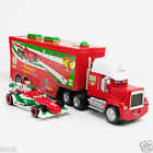 Disney Pixar Cars Francesco & Mack Racer's Hauler Truck Toy Car 1:55 Loose New