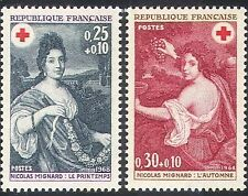 France 1968 Red Cross Sc B421-2 MNH