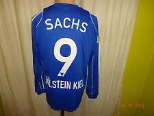 "Holstein Kiel Adidas Langarm Matchworn Trikot 2009/10 ""famila"" + Nr.9 Sachs Gr.M"